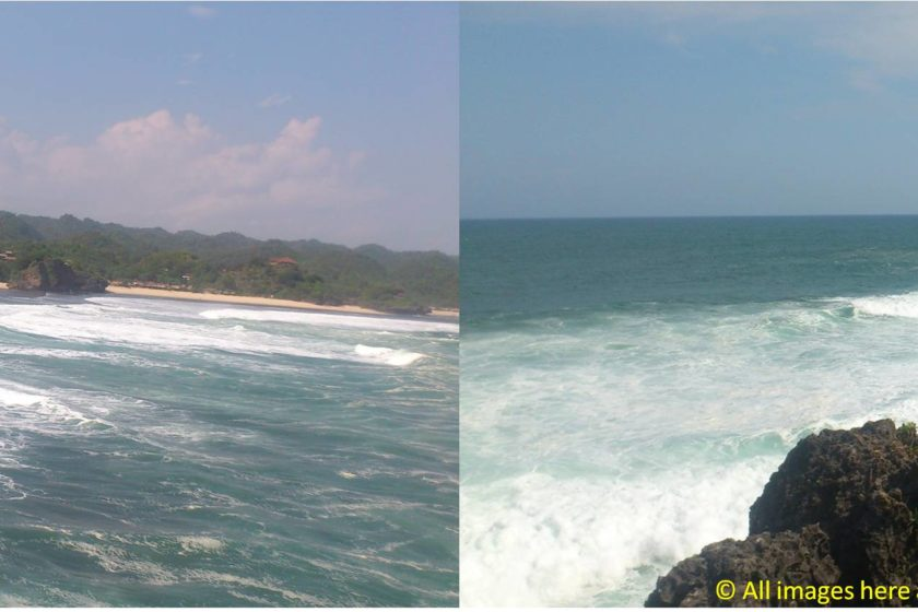 Exploring the Beach around Yogyakarta