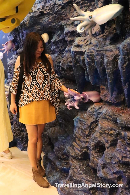 Visiting Sea Life Bangkok